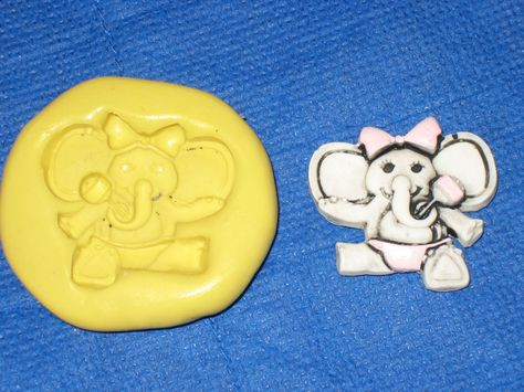 Dog Pet Character Silicone Push Mold 447 For Chocolate Resin Craft Cake Pop