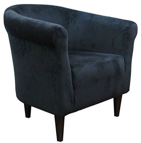 Beau Zipcode Contemporary Barrel Chair This Microfiber Upholstered Club Seat Is  Perfect For Your Living Or Bedroom This Accent Furniture Is Made Of Wood  And Foam ...
