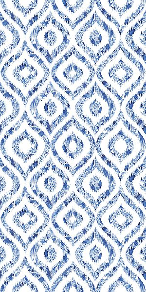 Royal Deft Ikat Wallpaper 8 Yard Roll - The Nicolette Mayer Collection