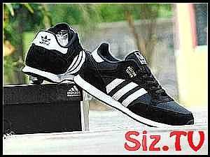 Sepatu Sport Adidas Boston Super Grade Ori Hitam Putih Kets