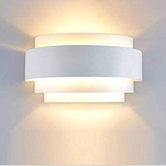 Lampop Aplique De Pared Moderno 5w Lampara Abat Jour De Muro Dormitorio E27 Blanco Calido Amazon Es I Iluminacion De Pared Lampara De Pared Apliques De Pared