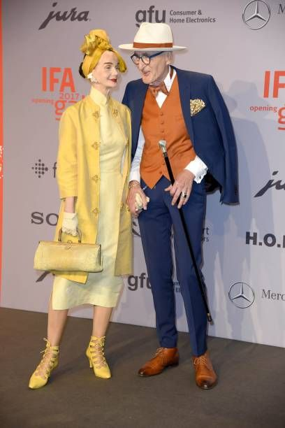 Britt Kanja and Guenther Krabbenhoeft attend the IFA 2017 opening gala on August. - Britt Kanja and Guenther Krabbenhoeft attend the IFA 2017 opening gala on August 31 2017 in Berlin -