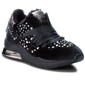 Sneakersy Liu Jo Karlie 03 B68031 Tx026 Black 22222 Shoes Black Wedges