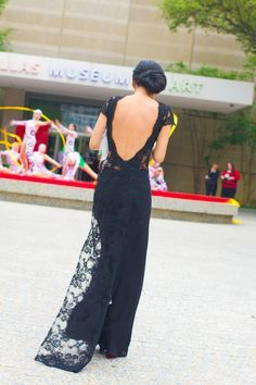modern lace ao dai. nice back but probably in red, gold, or white/gold.