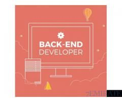 Backend Developer Required For Star Solutions In Dubai Backend Developer Job Ads Backend