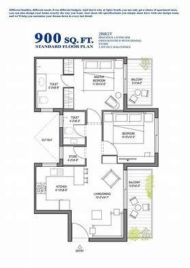 Image Result For 900 Sq Ft House Plans For 30x30 Space Duplex Floor Plans Floor Plan Design House Floor Plans