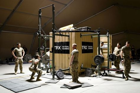An Austere Base In Afghanistan Rapidly Expands For More Us Troops Build Gym Equipment Build Gym Troops