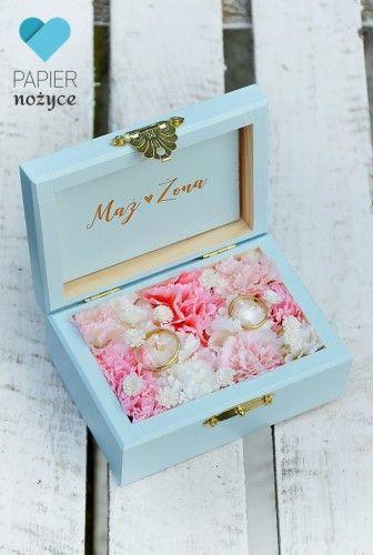 Love Pudelko Na Obraczki Graduation Diy Decorative Boxes Box