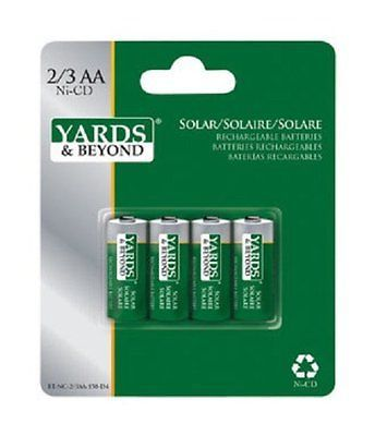 Yards Beyond Rechargeable Batteries Aa 150 Mah Capacity Carded 4 Pack Aquaponics System Rechargeable Batteries Aquaponics