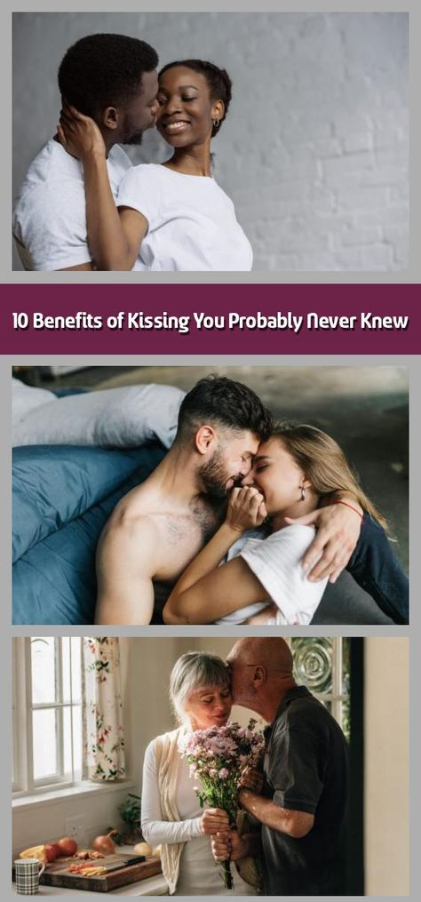 10 Benefits of Kissing You Probably Never Knew - You'll want to pucker up after learning these kissing benefits.  1 / 10 Volodymyr Herasymchuk/Shutterstock The benefits of kissing? For one, kissing boosts immunity.We know kissing as a social pleasantry, a potential ending to a date and a means of connecting with our main squeeze. The collision of lips and tongues that we often take for granted has a whole lot more bubbling under the surface than meets the eye and actually does a body ve...