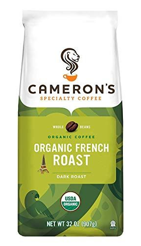 Cameron S Coffee Roasted Whole Bean Coffee Organic French Roast 32 Ounce Review Best Organic Coffee French Roast Coffee Organic Coffee Beans