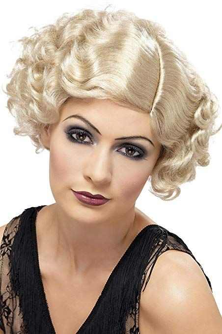Amazon Com Smiffys Women S 20 S Flirty Flapper Wig Short