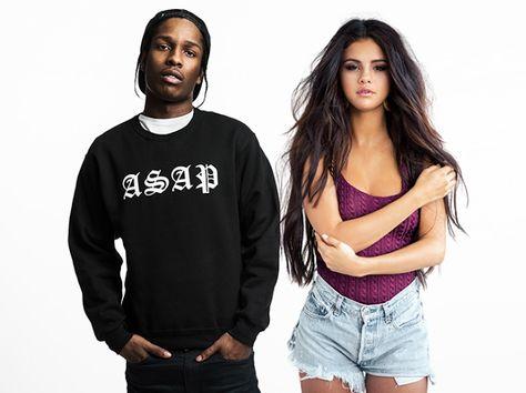 Selena gomez datování asap rocky