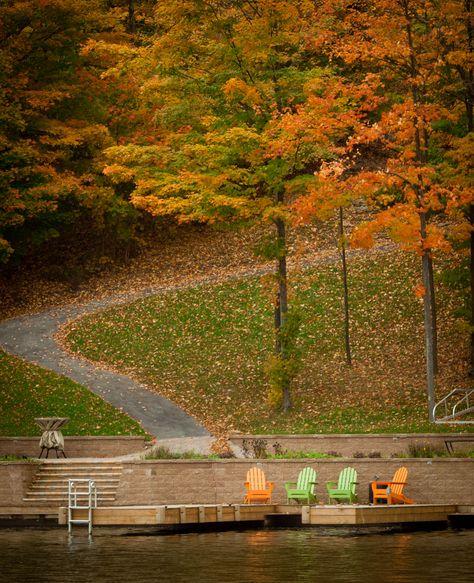 Fall on Indian Lake, PA