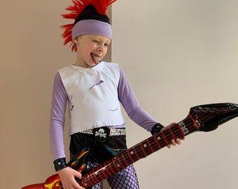 2020 Rockstar Halloween Rockstar Queen Tutu Dress Girl Halloween Costume Kids | Etsy in
