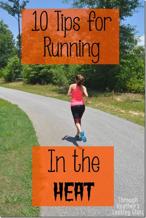 Running in the heat can be dangerous if you are not prepared. See my top ten tips for running in the heat and have a successful run!