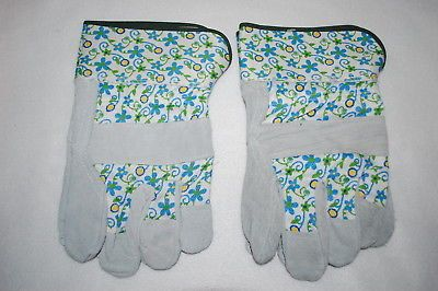 Details About Womens Gardening Yard Gloves 2 Pair Lot Canvas
