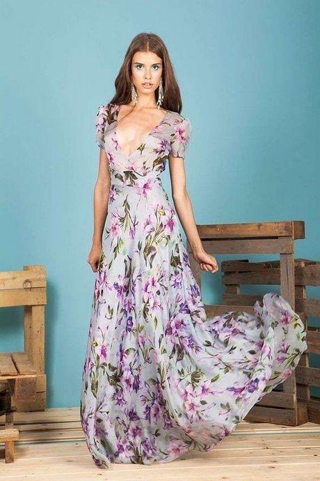 reputable site 08aeb 513cc Abiti a fiori lunghi | abiti chiffon nel 2019 | Abiti a ...