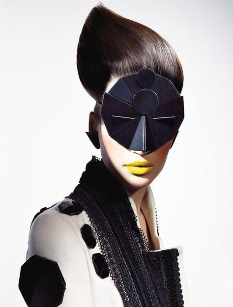 Eugenia Volodina by Richard Burbridge for Vogue Italia November 2008.