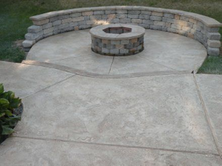 Concrete Patio | Concrete Patio Pictures   Photos, Stamped Concrete,  Stained Patios | Outdoor Remodel Ideas | Pinterest | Concrete Patios, Patios  And ...
