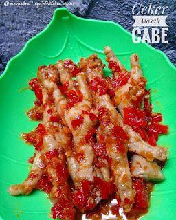 Resep Ceker Balado Super Pedas By Moezandra Resep Ayam