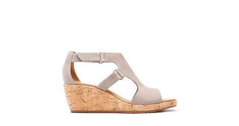 eed893970d Un Plaza Strap Warm Grey Nubuck - Women's Wide Width Shoes - Clarks® Shoes  Official Site | Clarks