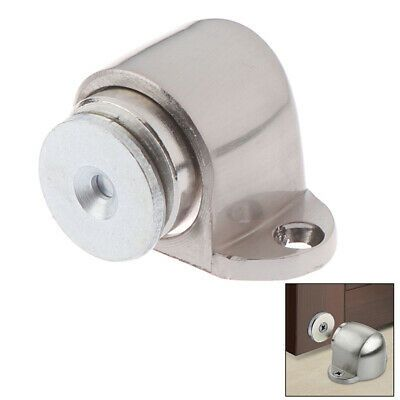 Zinc Alloy Magnetic Door Holder Stopper Doorstop Wall Floor Safety Catch Mountus Fashion Home Garden Homedcor Doorstops Door Holders Door Stop Zinc Alloy