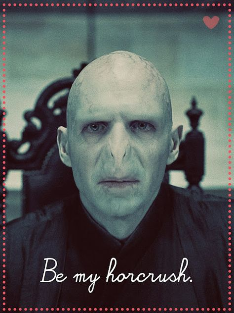 Happy Valentine's Day to you too, voldy