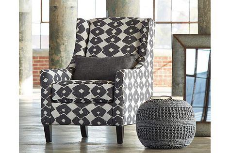 Brace Chair By Ashley Homestore Polyester Furniture Ashley