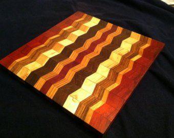 Articles Similaires A Planche A Decouper Chevron Issus De Bois Exotiques Dur Sur Etsy Handcraft Etsy Zebra Wood