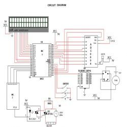 Circuit Diagram Of 8051 Microcontroller Based Water Bath Temperature Controller Microcontrollers Electronics Projects Circuit Diagram