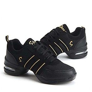 Shall We® Women's Dance Sneakers Ballroom Shoes Leather