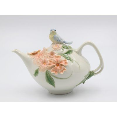 Egg Shaped Bunny Ceramic Teapot Tea Pots Ceramic Teapots Porcelain Tea Set
