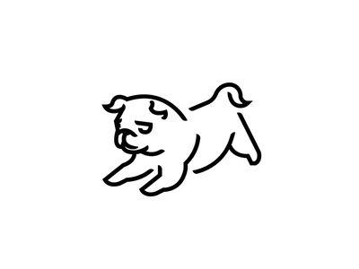 Puggy Logo Animal Logo Pug Puppies Logos