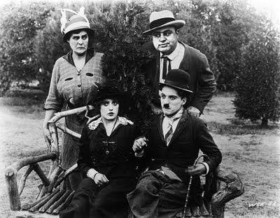 Al Capone and Charles Chaplin