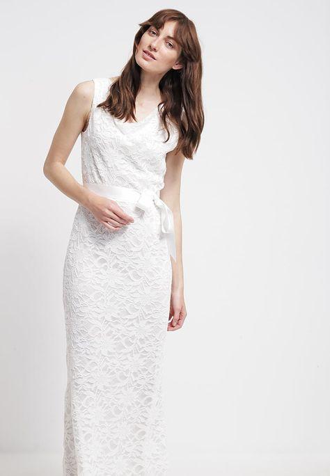 Bestil Young Couture By Barbara Schwarzer Maxikjoler Cream Til Kr 639 00 Hvid Kjole Kjoler Gallakjoler
