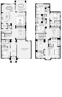 Somerset New Home Floor Plans Interactive House Plans Metricon Homes Melbourne Double Storey House Plans Australian House Plans Beach House Plans