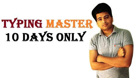 typing master kaise bne or typing test dena sikhe vo bhi typing test