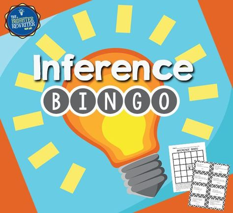This bingo game uses riddles to prompt students to make inferences. Students create their own bingo cards by choosing and writing 24 words onto a blank bingo page. During the game, the teacher reads 3 clues aloud, students infer the answer, then cover the answer if it is on their card. Kids LOVE it!