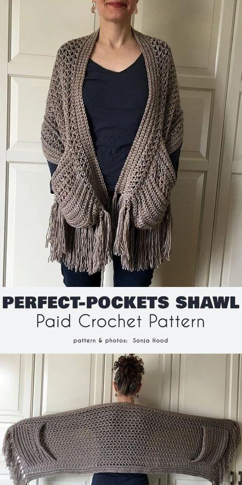 Knit Or Crochet, Crochet Gifts, Crochet Scarves, Crochet Clothes, Crochet Shawl Free, Crochet Stitches Patterns, Knitting Patterns, Cowl Patterns, Knitting Tutorials