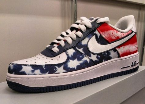 Nike Air Force 1 INDEPENDENCE DAY | Nike air force, Nike