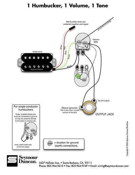 dimarzio dual sound wiring diagram image result for wiring diagram 1 humbucker 1 volume 1 tone  wiring diagram 1 humbucker