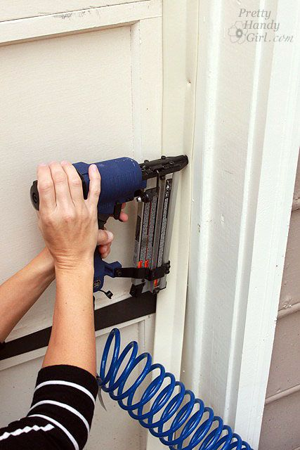 Installing Weatherstripping On A Garage Door Really Warms Up The