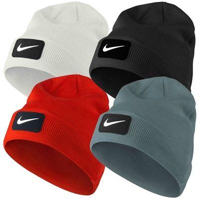 5b095357d784b 2014 Nike Swoosh Patch Knit Golf Beanie Mens Winter Hat