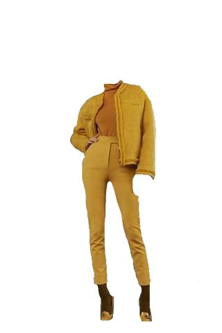 Yellow outfit png