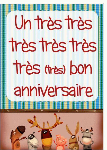 Birthday Quotes Carte Carte Anniversaire Des Animaux Qui