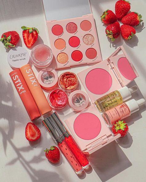 Kawaii Makeup, Cute Makeup, Pretty Makeup, Perfect Makeup, Colourpop Cosmetics, Makeup Cosmetics, Makeup Brands, Best Makeup Products, Peach Makeup