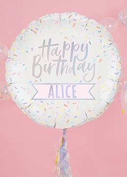 Luftballons Dekoration Pink Dots Partystore Alles Gute Zum