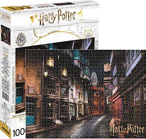 Harry Potter Diagon Alley 1 000pc Puzzle Aquarius Harry Potter Puzzle Harry Potter Diagon Alley Diagon Alley