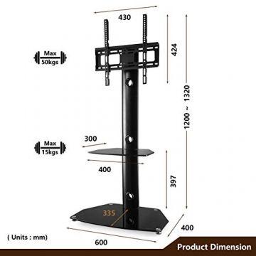 Supporti Porta Tv Lcd.Scegli Su Lealu It Rfiver Mobile Porta Tv Da Pavimento Angolo 3 In